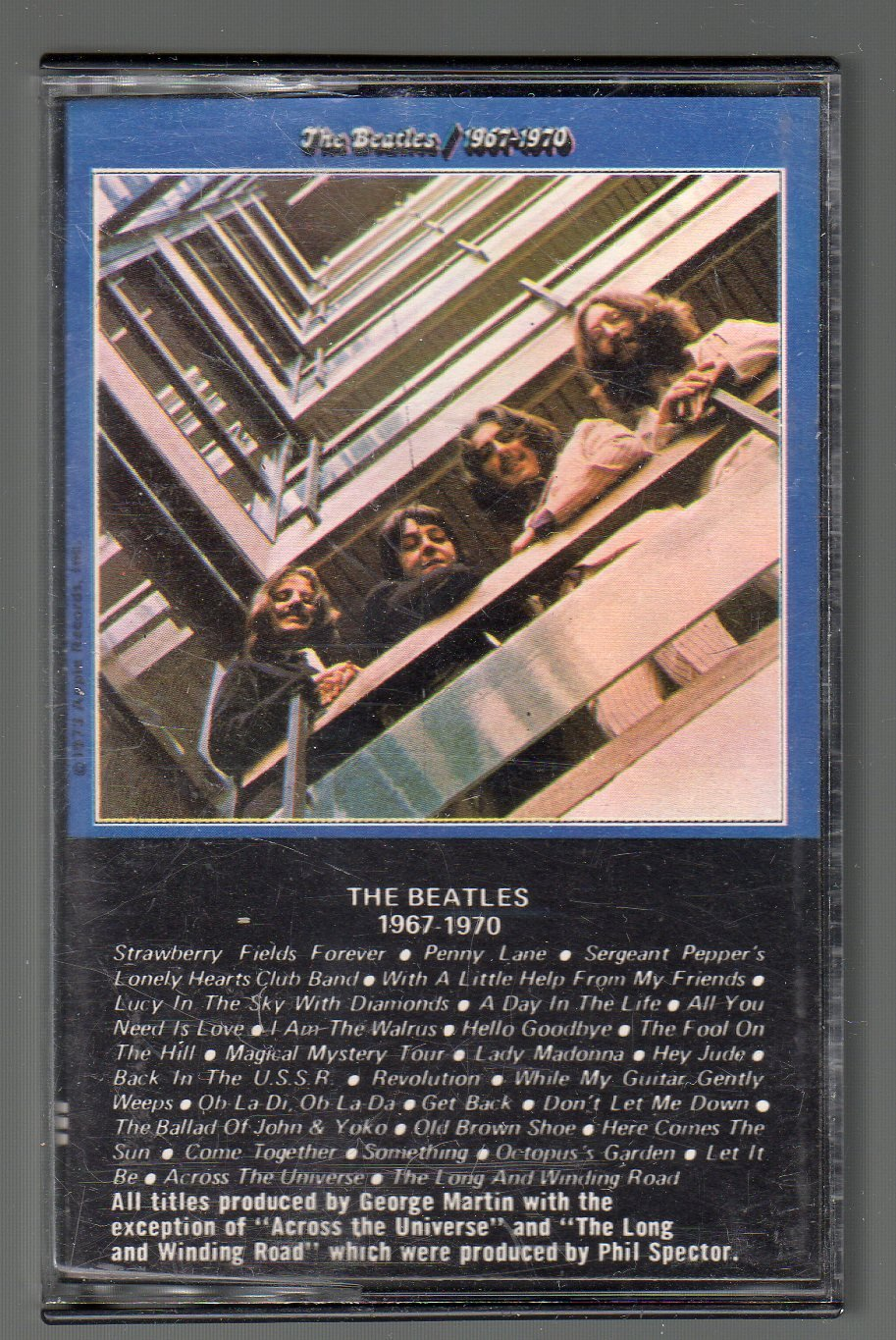 The Beatles - The Beatles 1967-1970 SOLD Cassette Tape