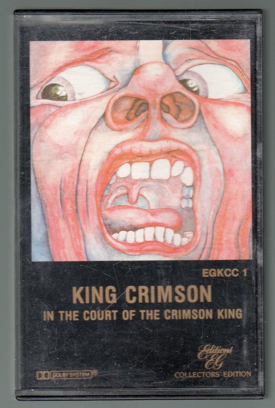King Crimson - In The Court Of The Crimson King Cassette Tape