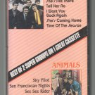 Zombies / Animals - K-TEL Best Of Two Super Groups On 1 RARE Cassette Tape