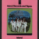 20th Century Steel Band - Warm Heart Cold Steel (Debut) Sealed ISLAND 8-track tape