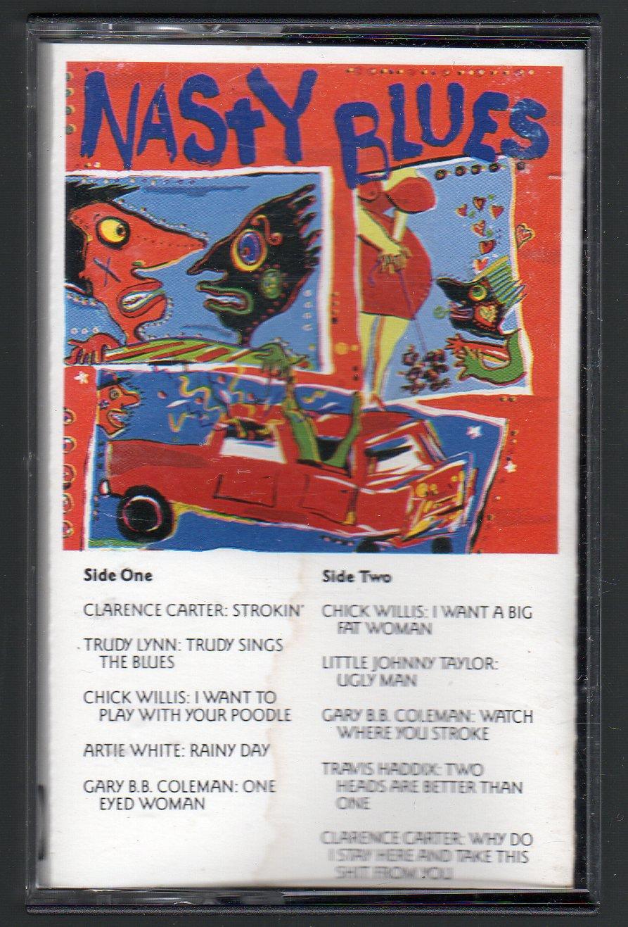 Nasty Blues - Various Explicit Blues Cassette Tape