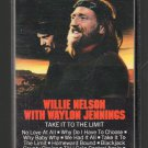 Willie Nelson And Waylon Jennings - Take It To the Limit 1983 Cassette Tape