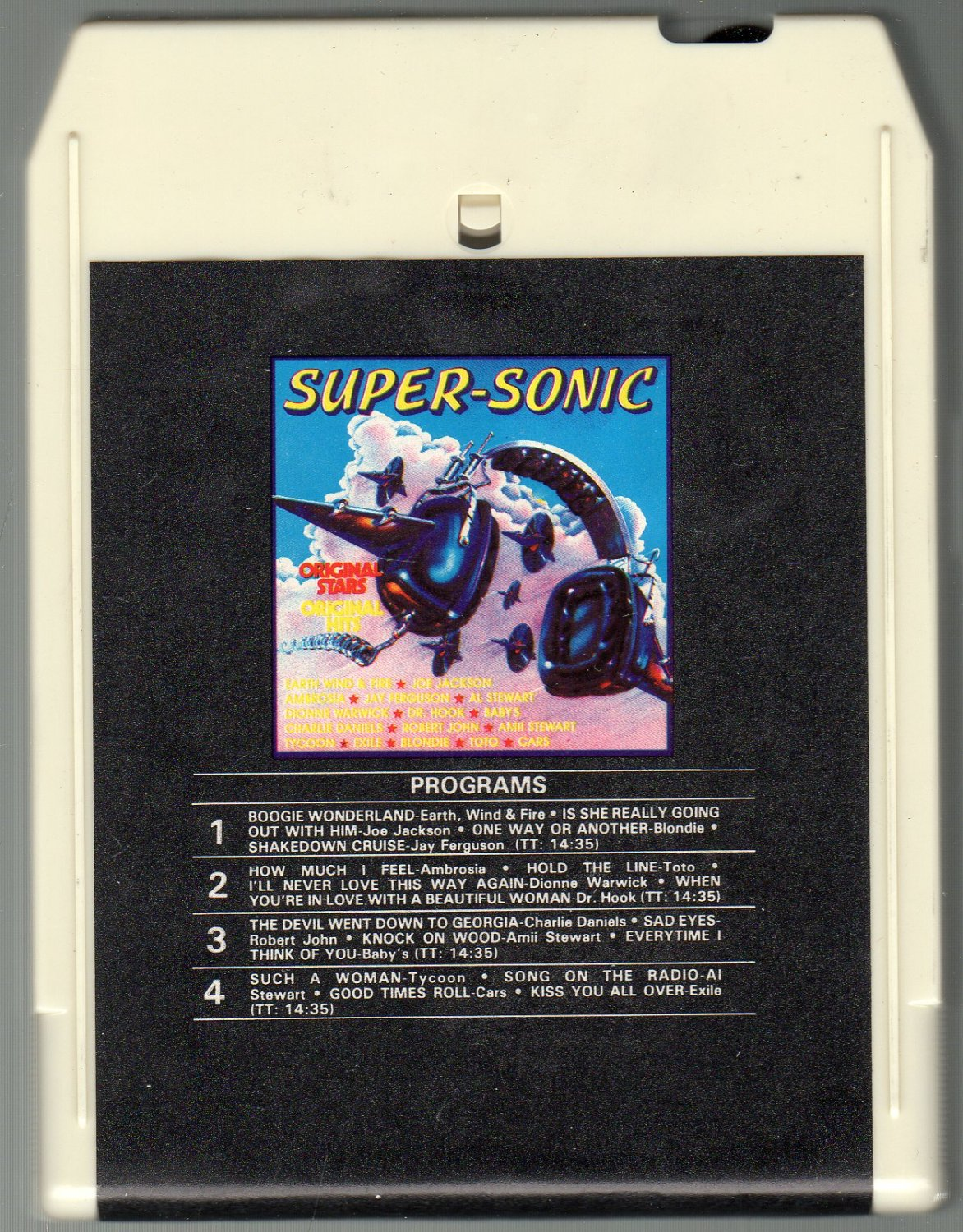 Supersonic - Original Artists RONCO SOLD 8-track tape