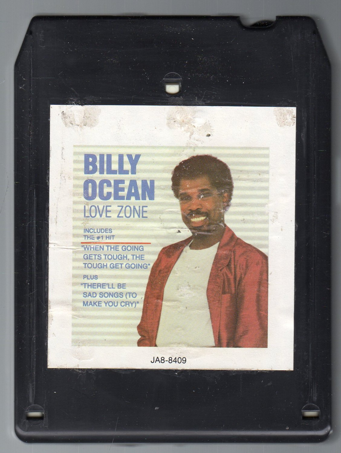 Billy Ocean - Love Zone 1986 CRC SOLD 8-track tape.