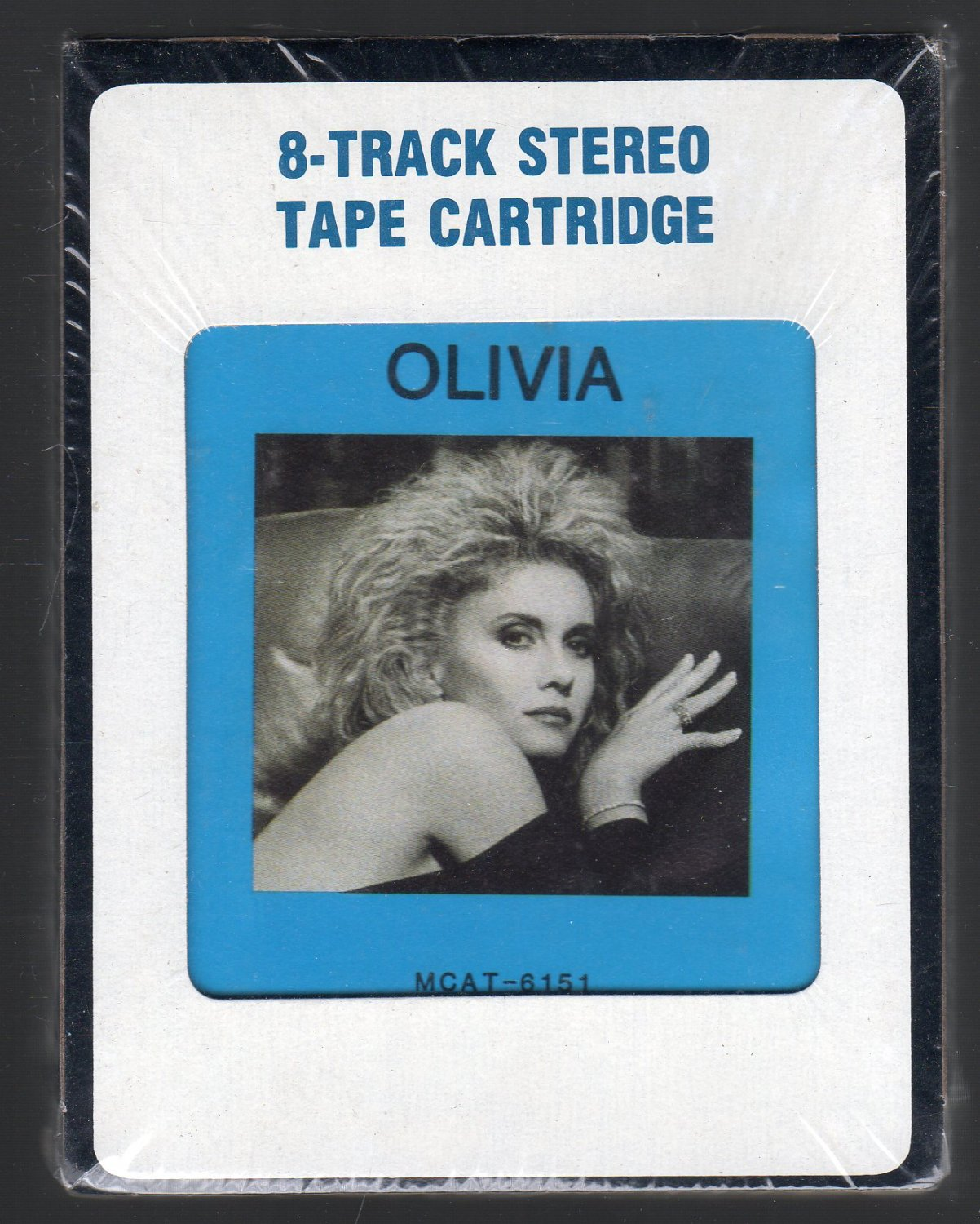 Olivia Newton-John - Soul Kiss 1985 CRC Sealed A52 8-track tape