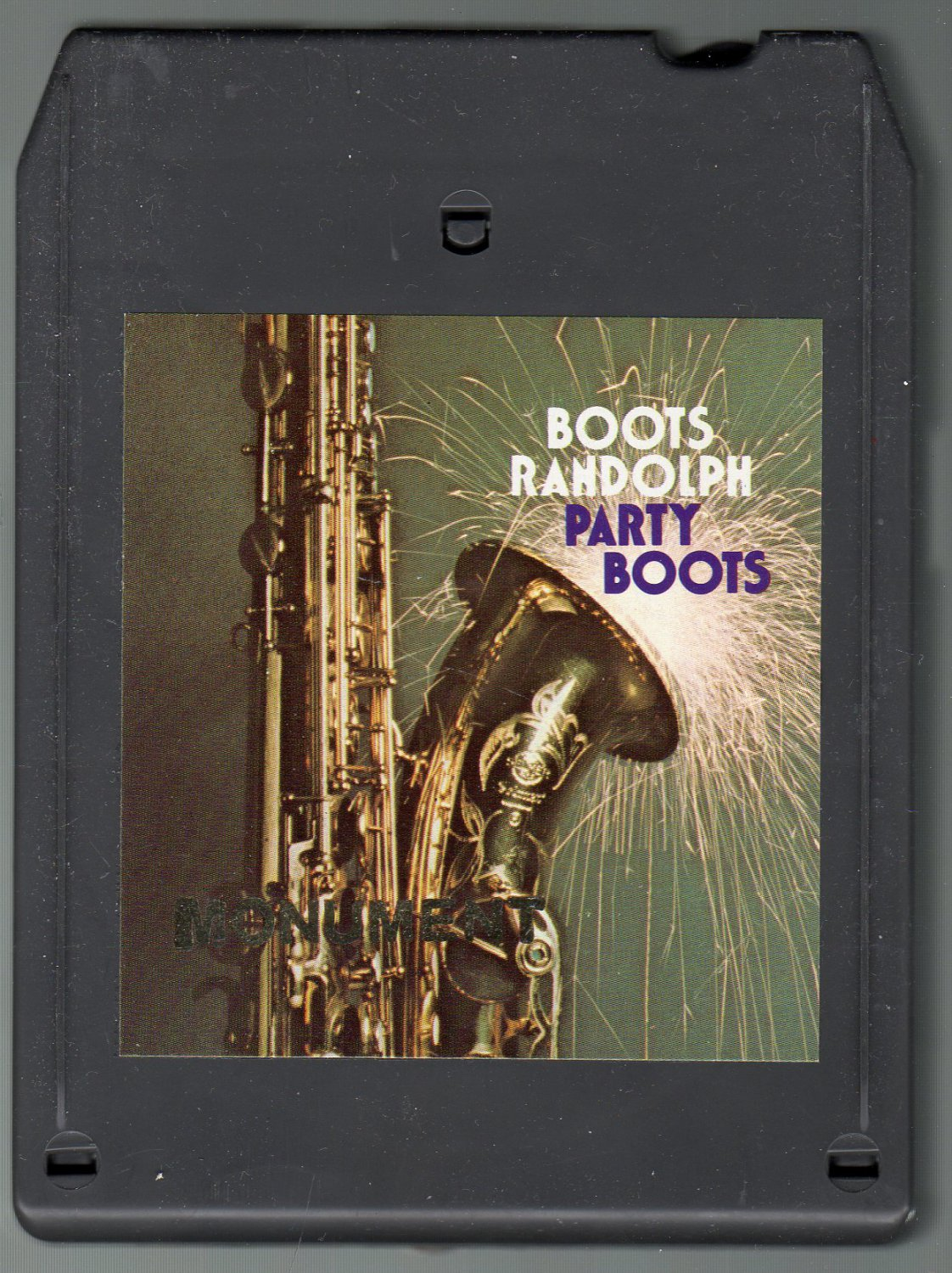 Boots Randolph - Party Boots 1976 MONUMENT DEMO A52 8-track tape