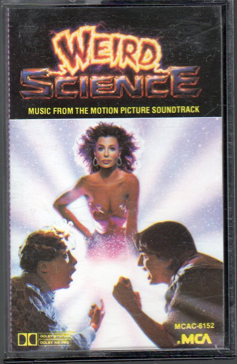 Weird Science - Motion Picture Soundtrack RARE Cassette Tape