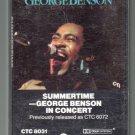George Benson - In Concert Summertime Cassette Tape