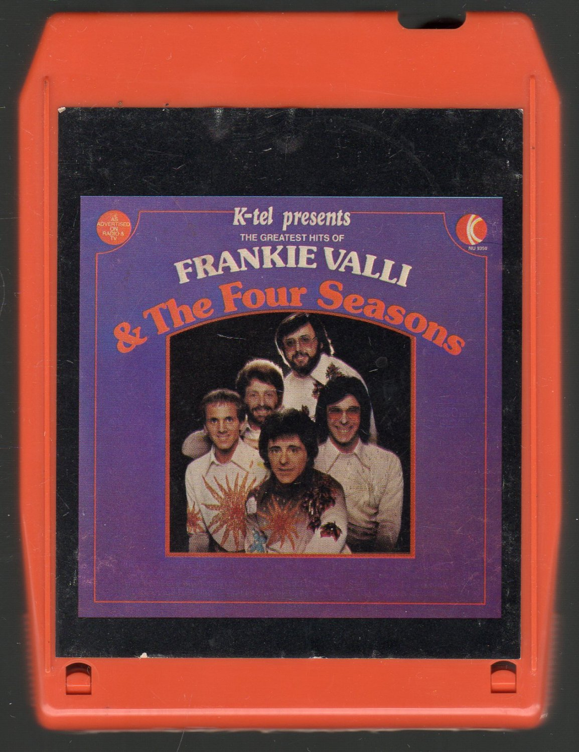 Frankie Valli & The Four Seasons - The Greatest Hits Part 1 K-TEL A52 8-track tape