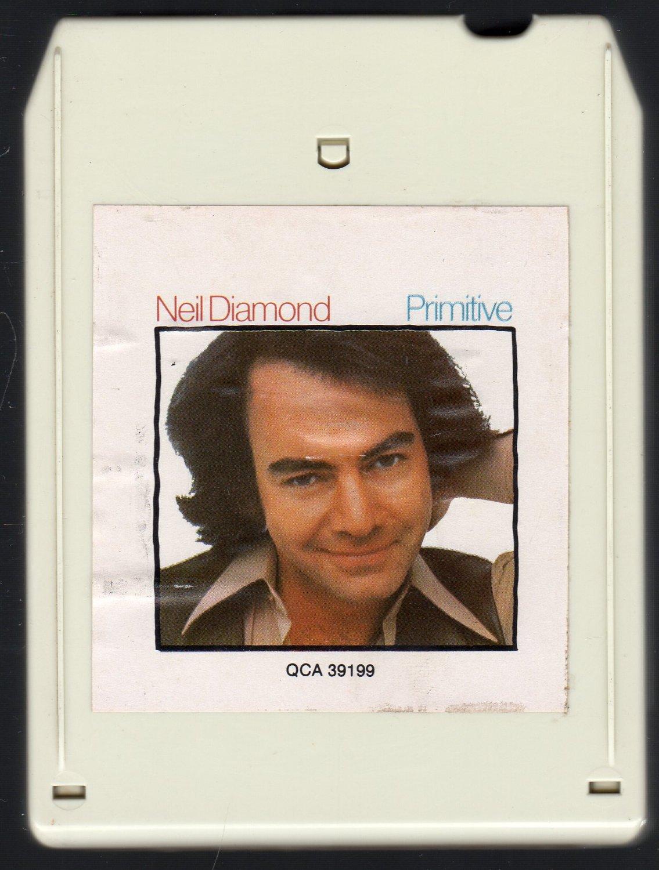 Neil Diamond - Primitive 1984 CRC 8-track tape