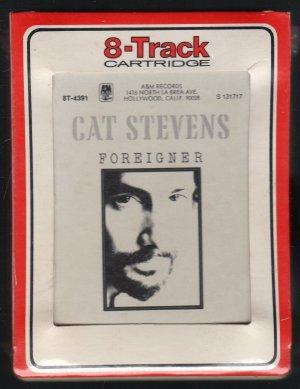 Cat Stevens - Foreigner RCA A&M Label Sealed 8-track tape