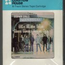 Manassas - Manassas 1972 Debut CRC A52 Atlantic Label Sealed 8-track tape
