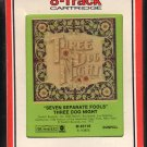 Three Dog Night - Seven Separate Fools RCA Sealed 8-track tape