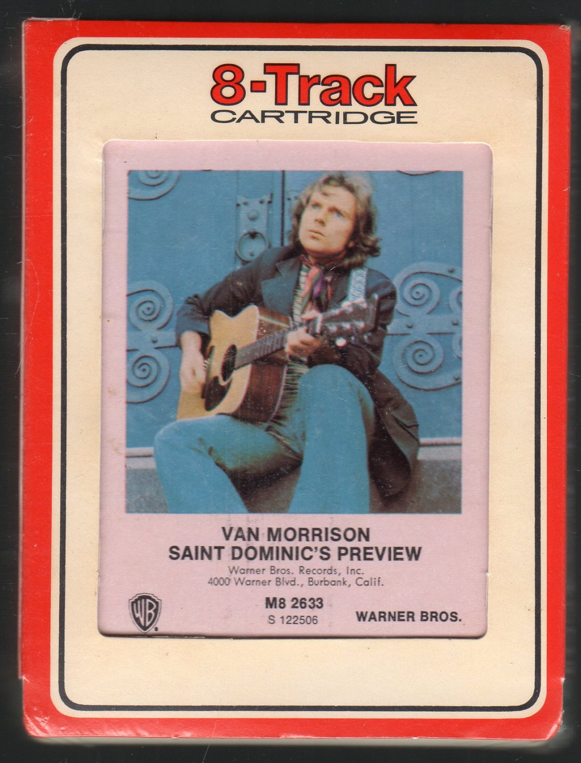 Van Morrison - St. Dominics Preview 1972 RCA Sealed A52 8-track tape