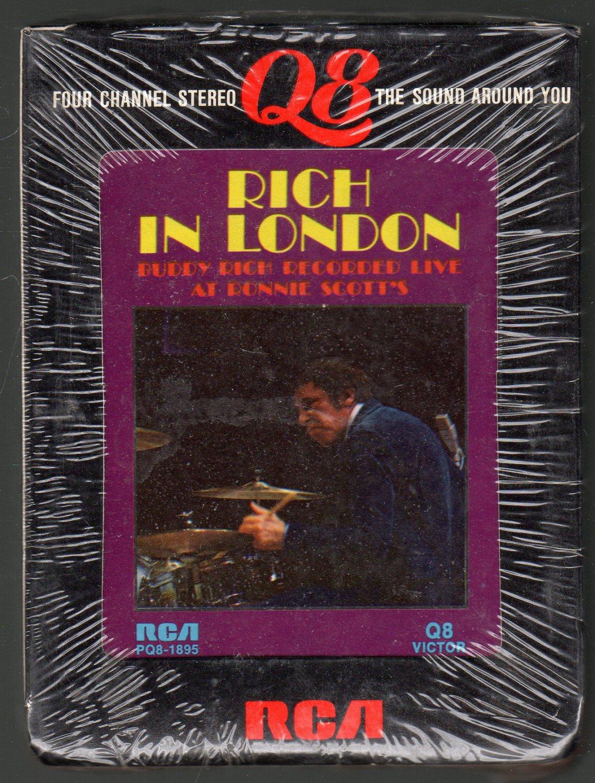 Buddy Rich - Rich In London RCA Sealed Quadraphonic 8-track tape
