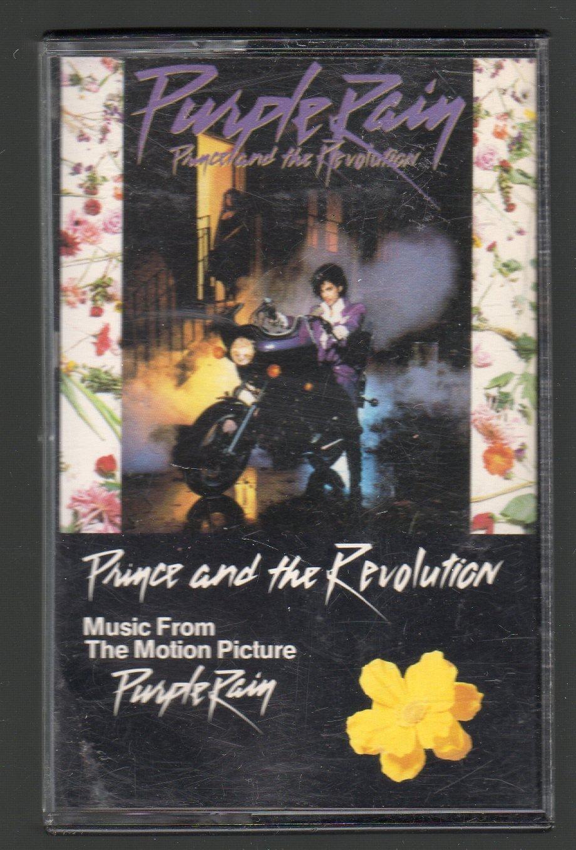 Prince And The Revolution - Purple Rain Motion Picture Soundtrack Cassette Tape