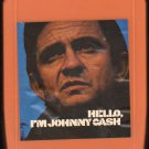 Johnny Cash - HELLO I'm Johnny Cash 8-track tape