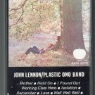 John Lennon - John Lennon/Plastic Ono Band Cassette Tape