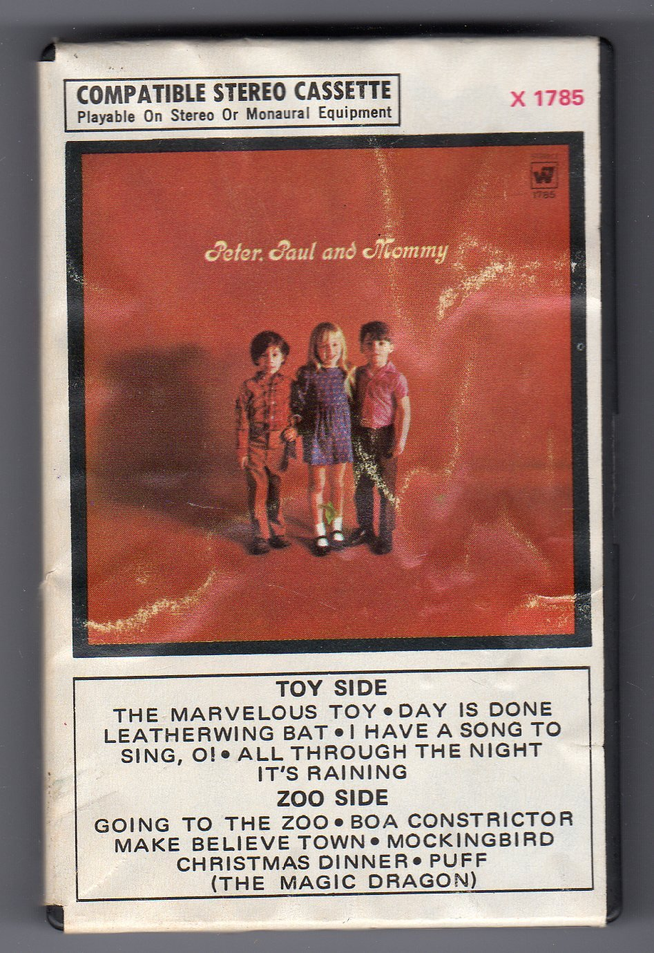 Peter, Paul & Mary - Peter, Paul & Mommy 1969 WB Ampex Cassette Tape