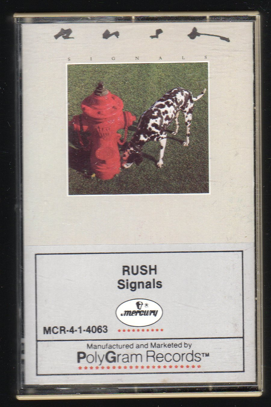 Rush - Signals SOLD + Cassette Tape