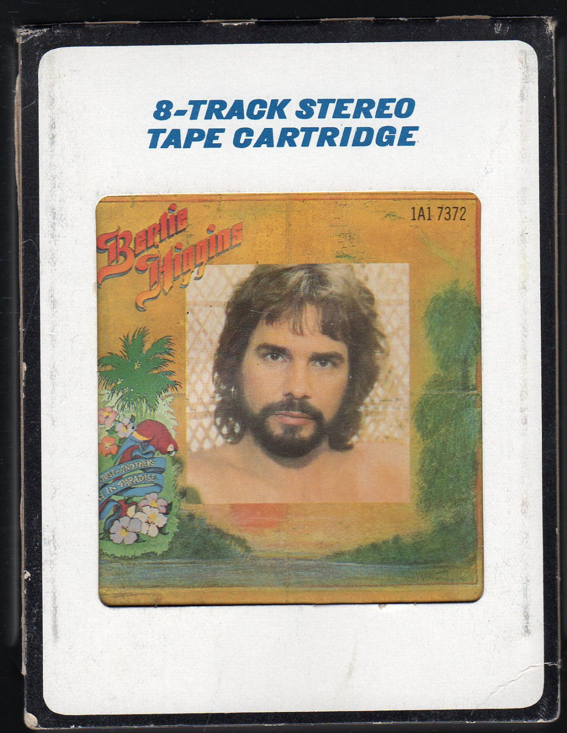 Bertie Higgins - Just Another Day In Paradise 1982 CRC 8-track tape