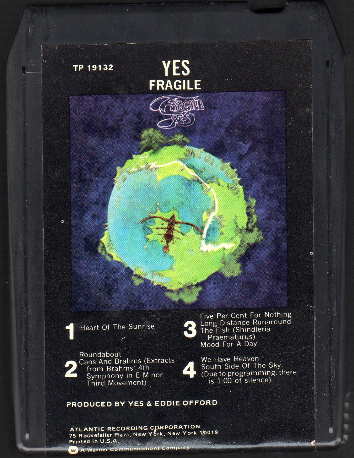 Yes - Fragile 8-track tape
