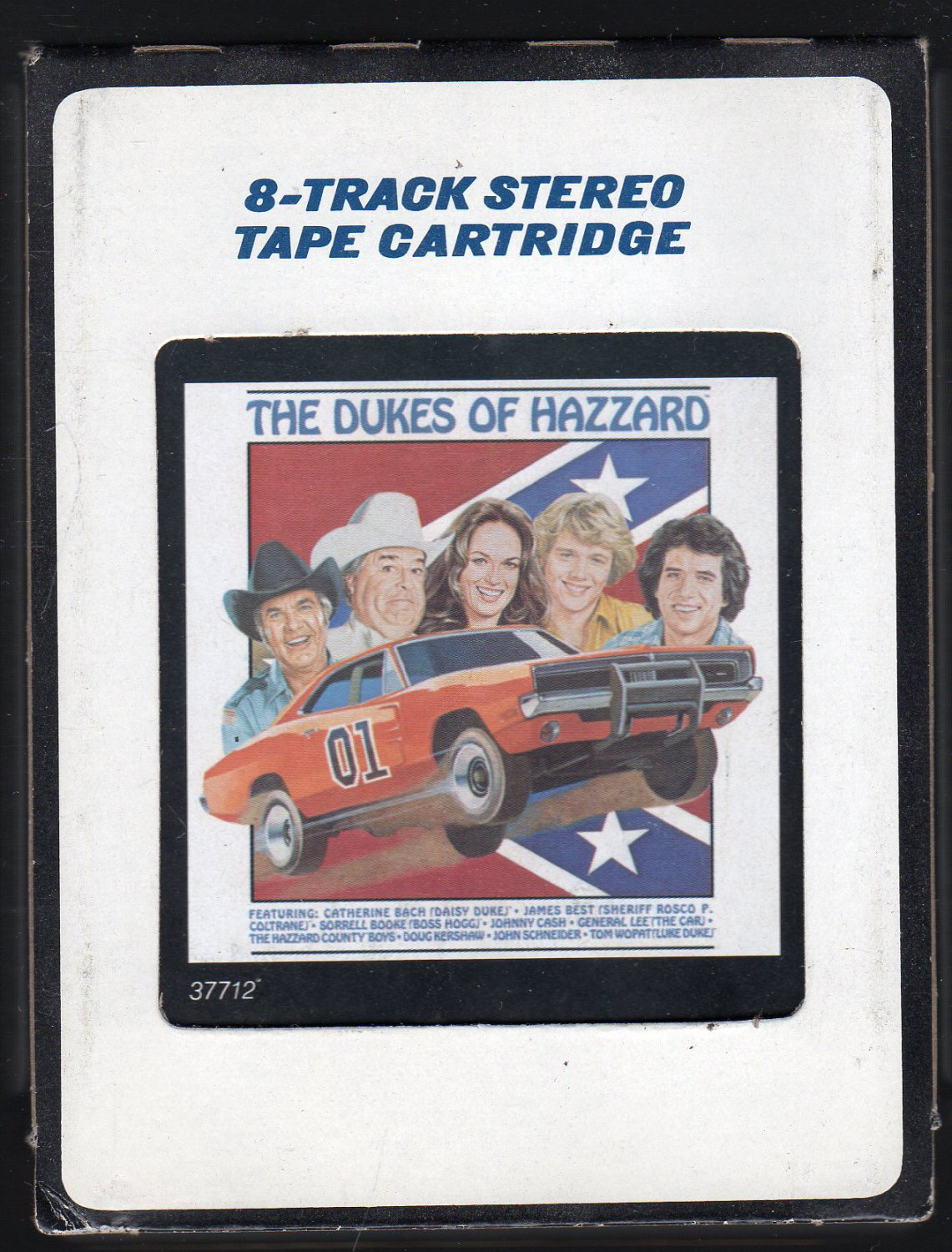 The Dukes Of Hazzard - Original Television Soundtrack 1982 CRC SOLD 8-track tape