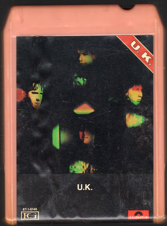 U.K. - U.K. 1978 Debut POLYDOR 8-track tape