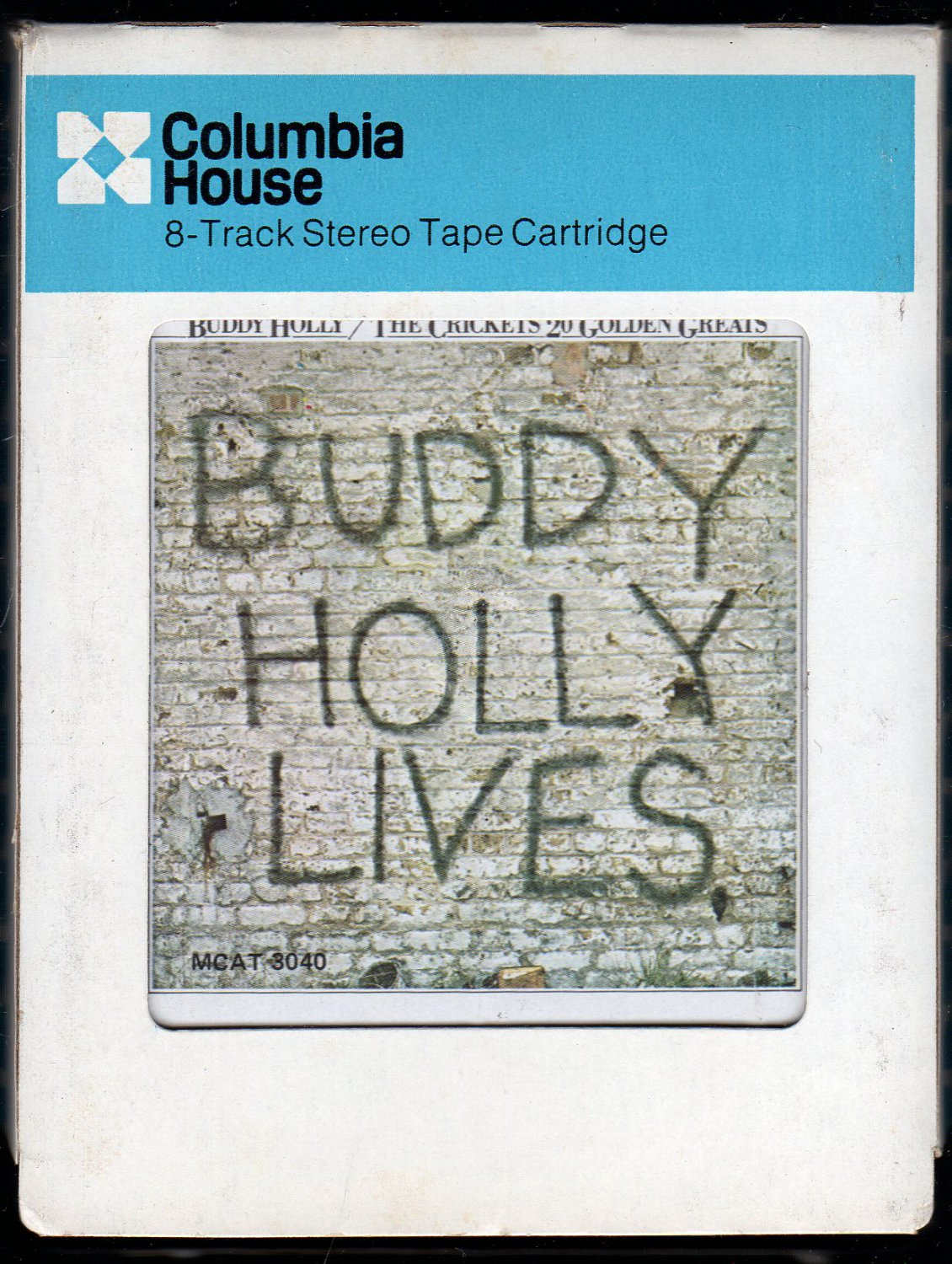 Buddy Holly / The Crickets - Buddy Holly Lives 20 Golden Greats CRC 8-track tape