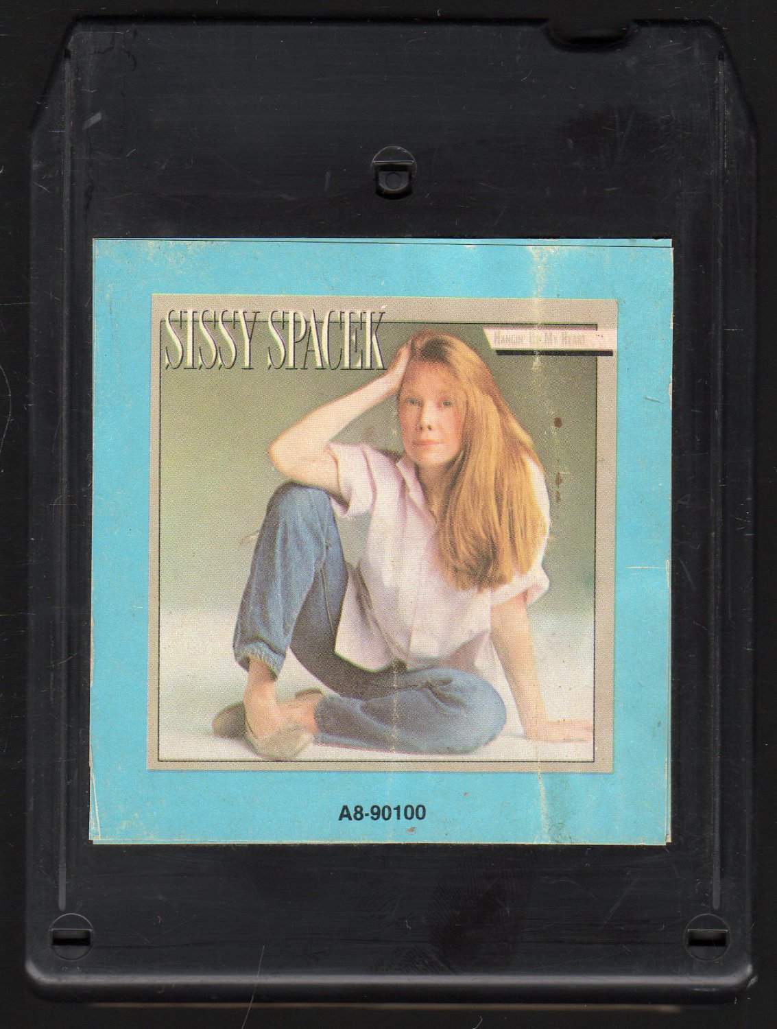 Sissy Spacek - Hangin' Up My Heart 1983 CRC 8-track tape