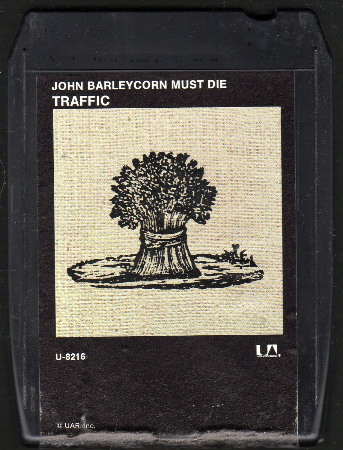 Traffic - John Barleycorn Must Die UA 8-track tape