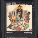 Live And Let Die - Original Motion Picture Soundtrack UA 8-track tape