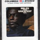 Miles Davis - Miles Davis Greatest Hits 1969 8-track tape
