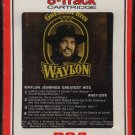 Waylon Jennings - Greatest Hits 1979 RCA Sealed 8-track tape