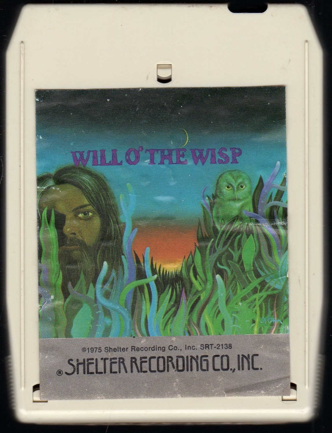 Leon Russell - Will O' The Wisp SHELTER 8-track tape