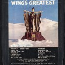 Paul McCartney & Wings - Wings Greatest 8-track tape