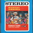 Ernest Tubb And His Texas Troubadours - Midnight Jamboree 1960 DECCA Re-issue 8-track tape