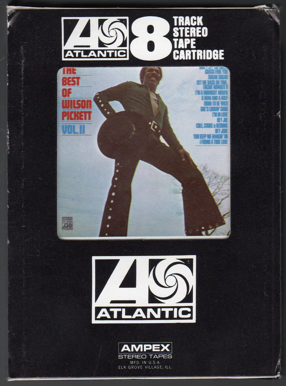 Wilson Pickett - The Best Of Wilson Pickett Vol II 1971 ATLANTIC 8-track tape