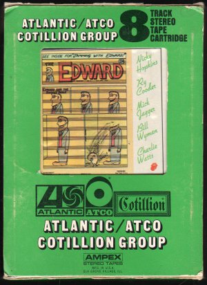 The Rolling Stones - Jamming With Edward 1972 ATCO AMPEX A23 8-track tape