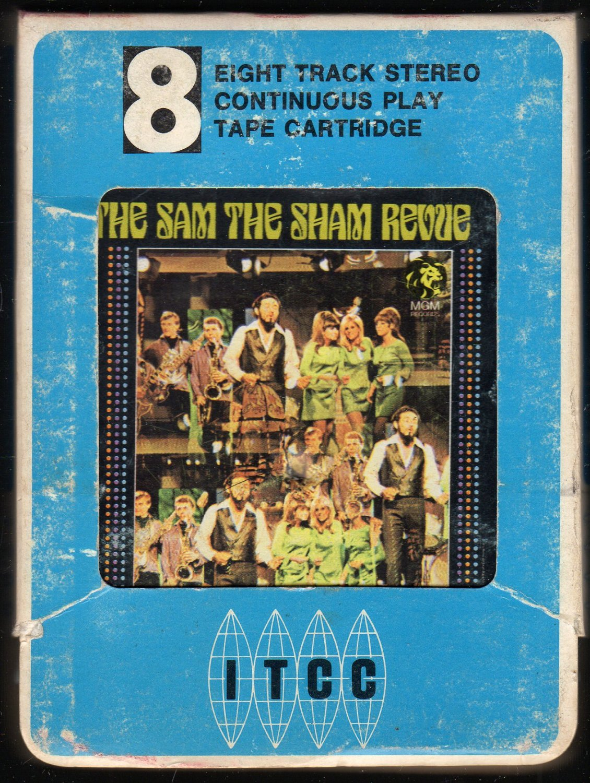 Sam The Sham & The Pharaohs - The Sam The Sham Revue 1966 MGM ITCC A32 4 or 8-track tape