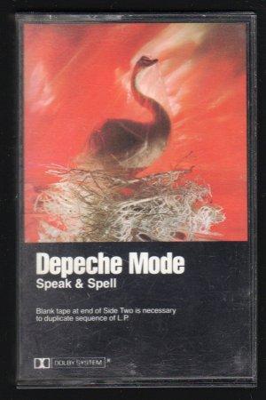 Depeche Mode - Speak & Spell C3 Cassette Tape