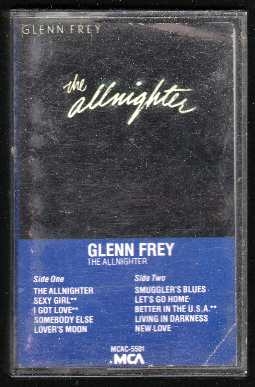 Glenn Frey - The Allnighter C1 Cassette Tape
