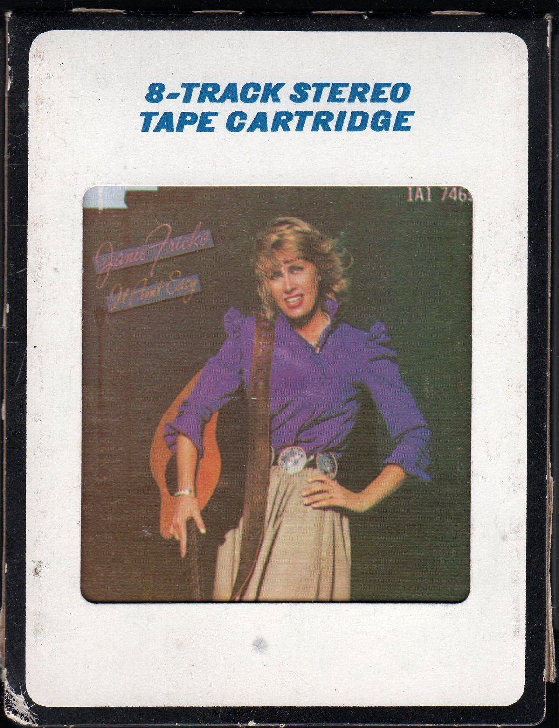Janie Fricke - It Ain't Easy 1982 CRC T7 8-track tape