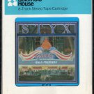 Styx - Paradise Theater 1981 CRC T4 8-track tape