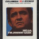 Johnny Cash and The Tennessee Three - Hello, I'm Johnny Cash 1970 TC8 Sealed T4 8-track tape