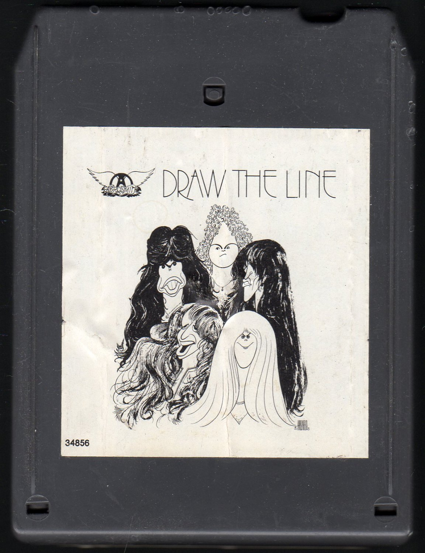 Aerosmith - Draw The Line 1977 TC8 T6 8-track tape