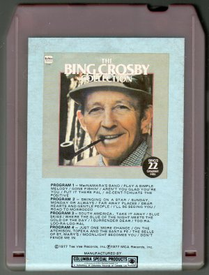 Bing Crosby - The Bing Crosby Collection 1977 TEE VEE T8 8-track tape
