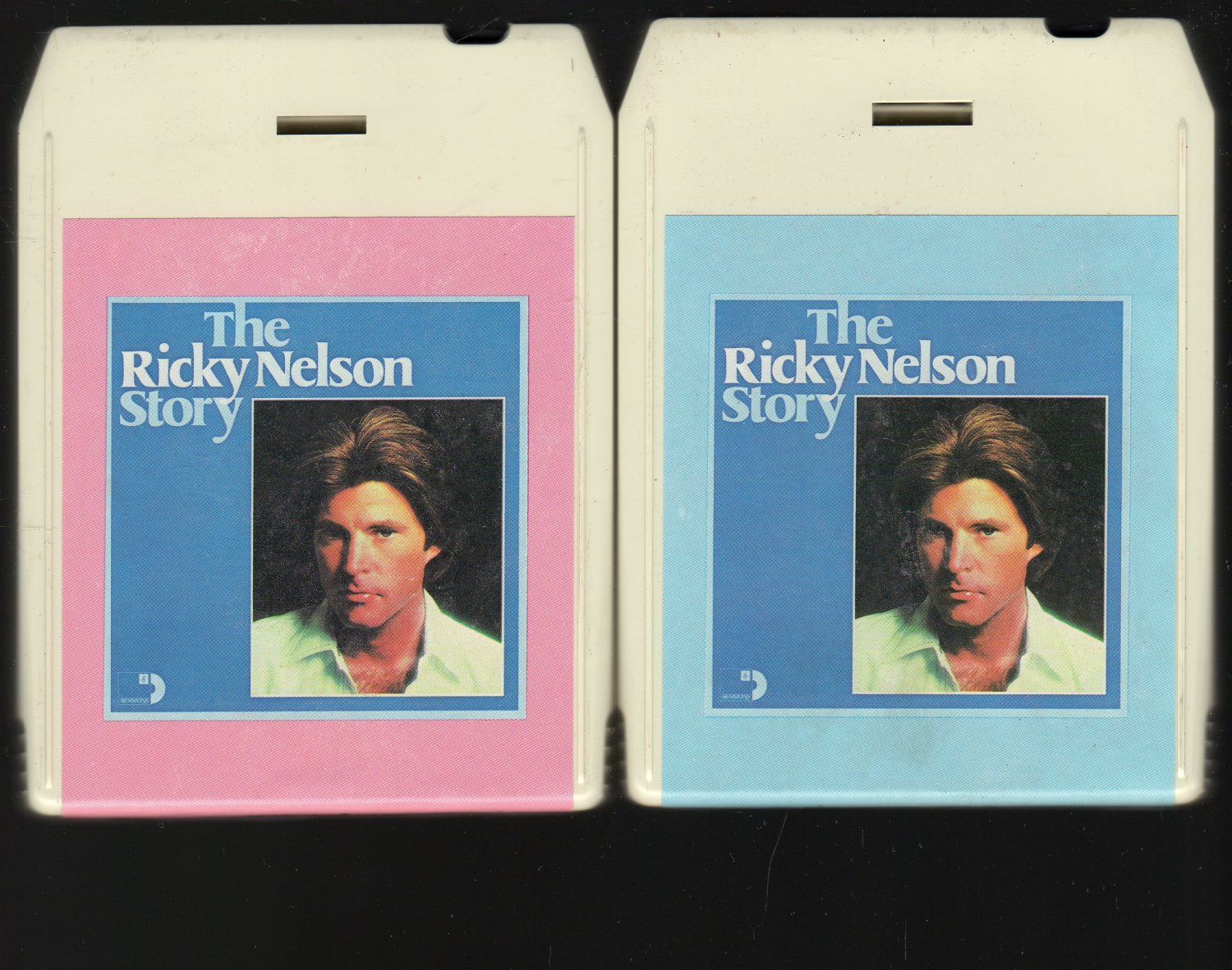 Ricky Nelson - The Ricky Nelson Story Vol 1 & 2 1976 SESSIONS A5 8-track tape