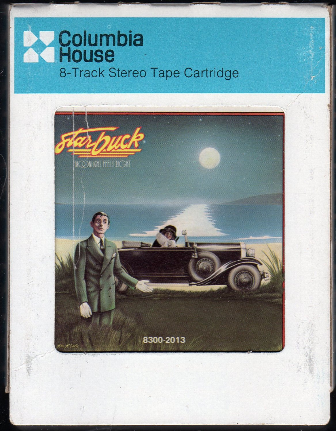 Starbuck - Moonlight Feels Right 1976 CRC A7 8-track tape
