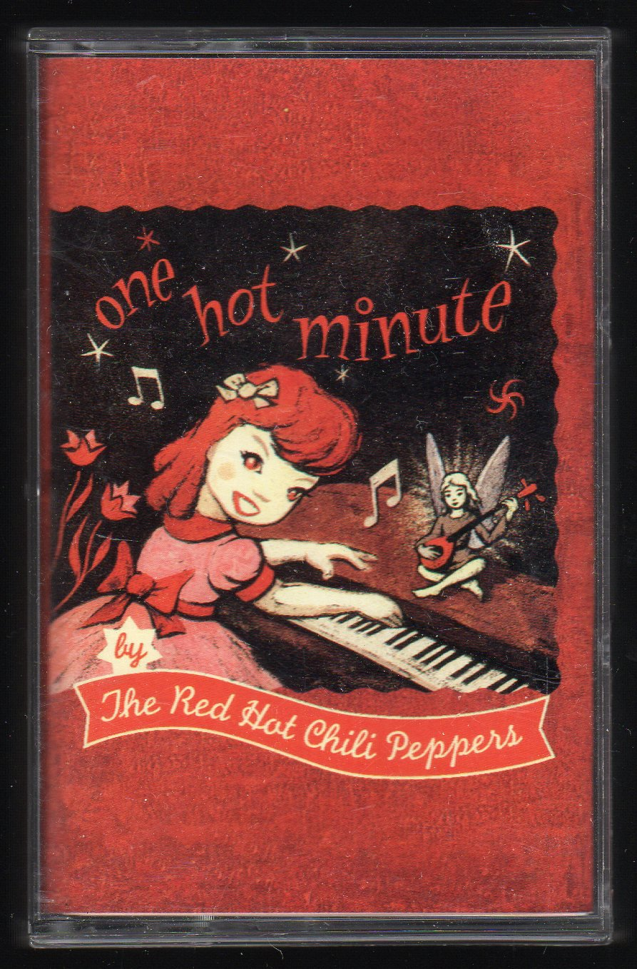 Red Hot Chili Peppers - One Hot Minute 1995 WB C6 Cassette Tape